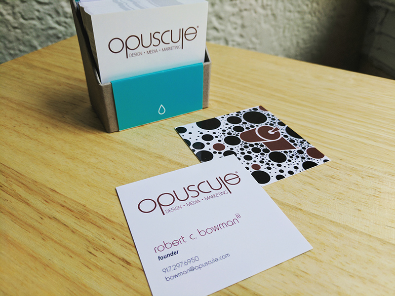 Opuscule Business Cards