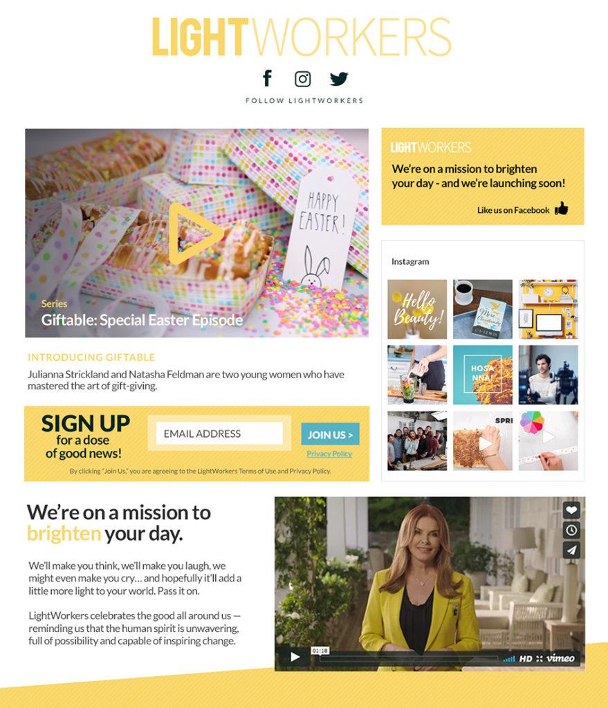 LightWorkers Web Design