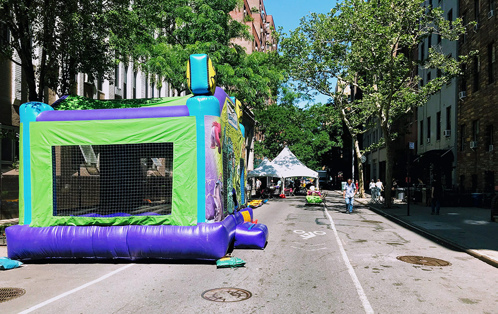 Bounce House at NYC Block Party