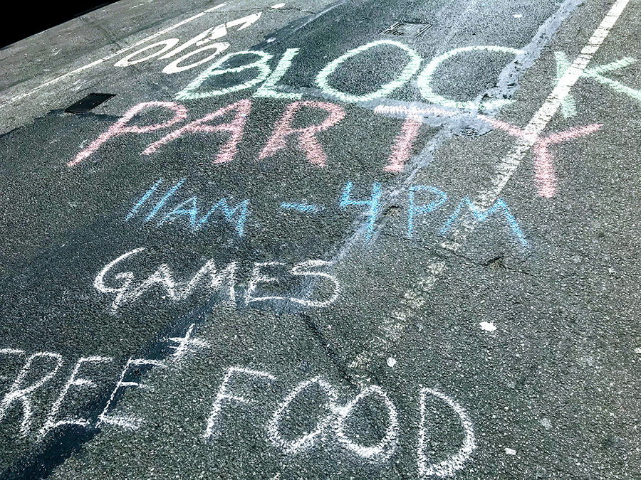 Block Party Chalk