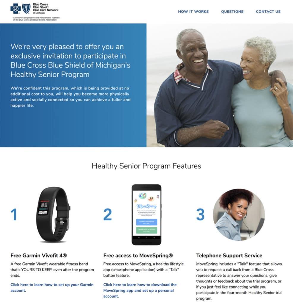 Healthy Senior Program