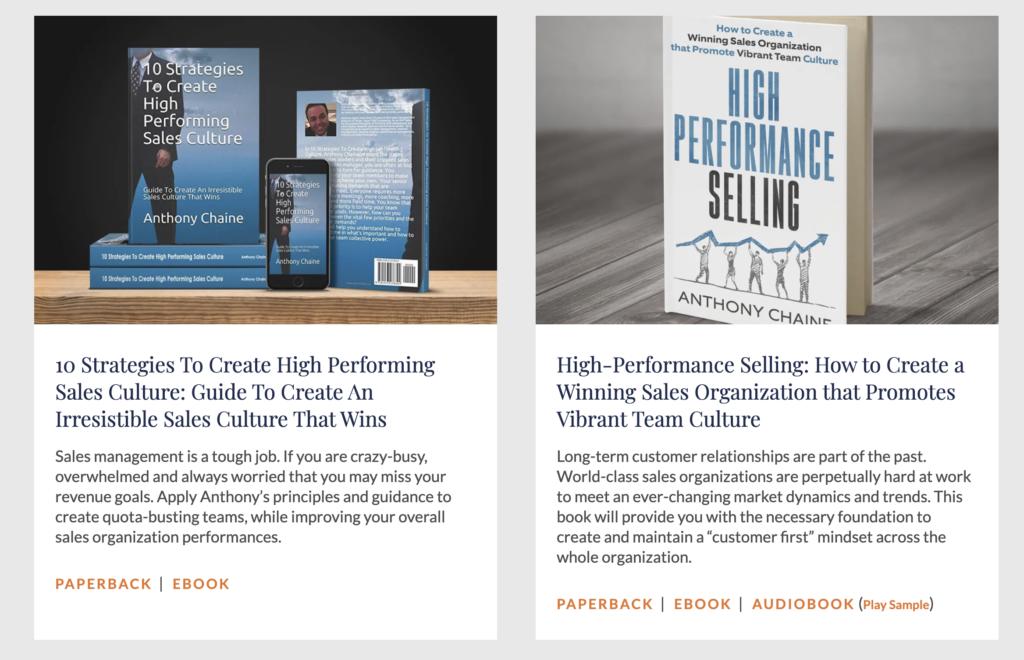 Sales Leader Books